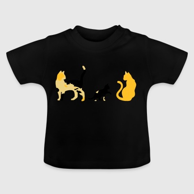 three cats - Baby T-Shirt