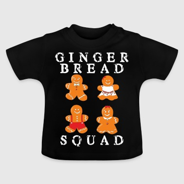 Gingerbread familie - Gingerbread tropper - Baby T-shirt