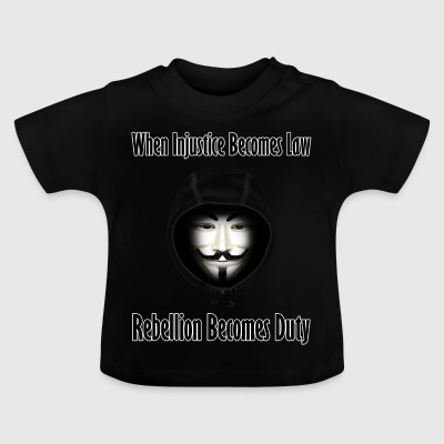 Rebellion is Duty - Baby T-Shirt