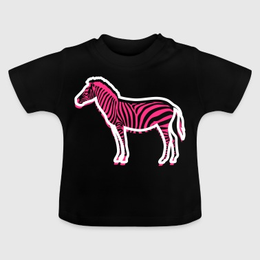A Young Zebra - Baby T-Shirt