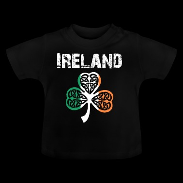 Nation-Design Klaver van Ierland 3Flbb - Baby T-shirt