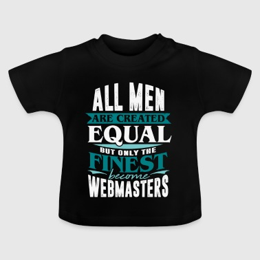 webmaster office engineer web internet pc computer - Baby T-Shirt