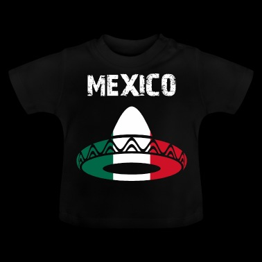 la conception de la nation Mexique Sombrero WIFsZA - T-shirt Bébé