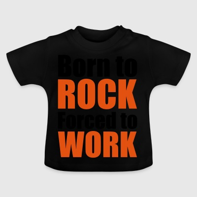 2541614 14755241 born to rock - Baby T-Shirt