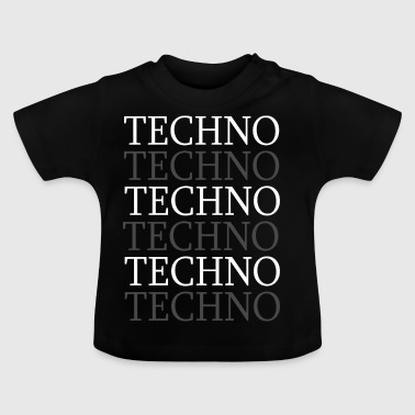 Techno - T-shirt Bébé