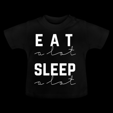 sover meget - Baby T-shirt
