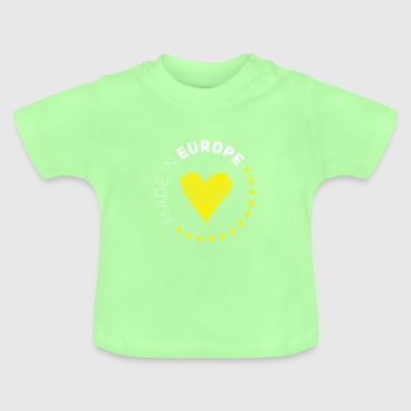 made in Europe love EU europe no brexit eurostar - Baby T-Shirt