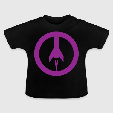 Missile + vrede - Baby T-shirt