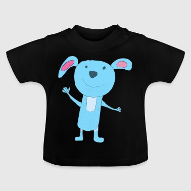 Funny Mouse Laki - Pink - Baby T-Shirt