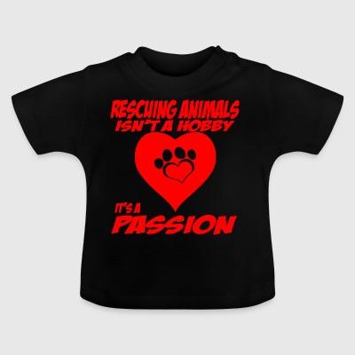 rescuing animals - Baby T-Shirt