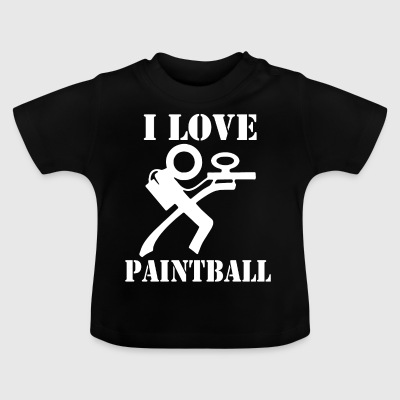 i love paintball - Baby T-Shirt
