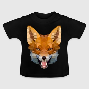 Polygon Fuchs - Baby T-Shirt