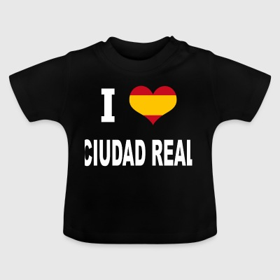 I Love Spain CIUDAD REAL - Baby T-Shirt