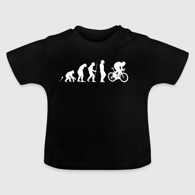 Road cyclist sprint - Baby T-Shirt