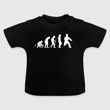 movimiento del karate - Camiseta bebé