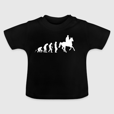 Riding Equestrian - Baby-T-skjorte