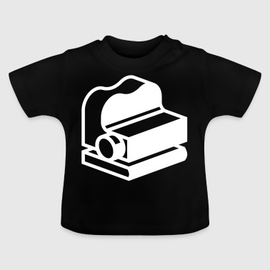Ouderwetse projector - Baby T-shirt