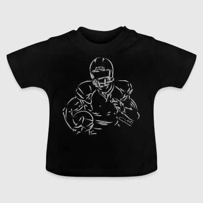 American football player - Baby T-Shirt