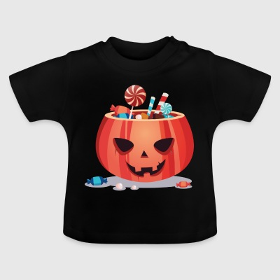 Happy Halloween Pumpkin - Baby T-Shirt
