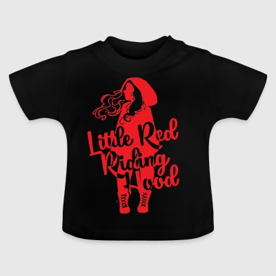 Fairy Tale: Red Riding Hood - Little Red Riding Hood - Baby T-Shirt