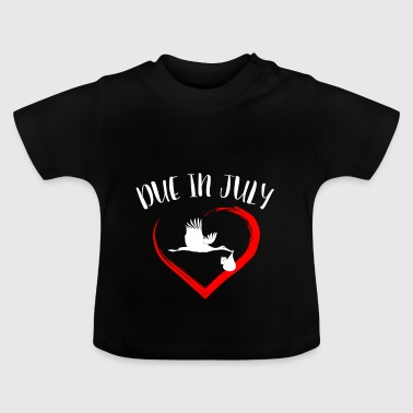 Pregnancy due in July - Baby T-Shirt