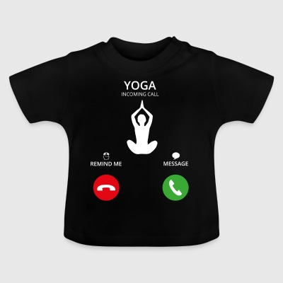 Ring Mobile Call yoga - Baby-T-skjorte