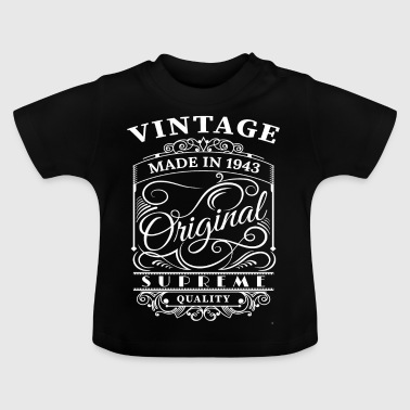 Vintage Made in 1943 Original - Baby T-shirt