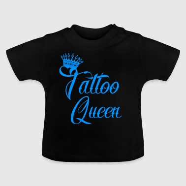 geschenk queen needle taetowiert tattoo tinte - Baby T-Shirt