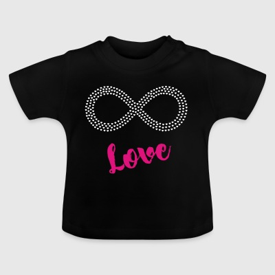 love infinite hearts love forever immer pink sex - Baby T-Shirt