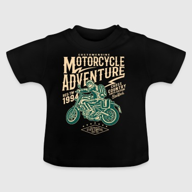 Motorcycle Adventure2 - Baby T-Shirt