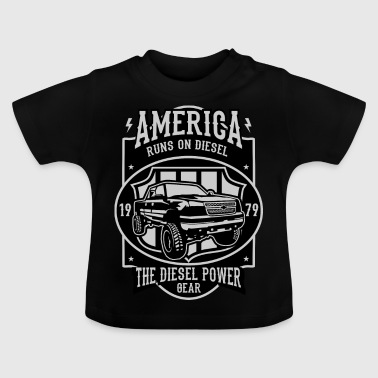 Runs On Diesel2 - Baby T-Shirt