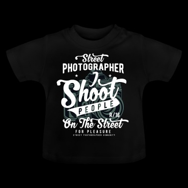 Street Photographer2 - Baby-T-shirt