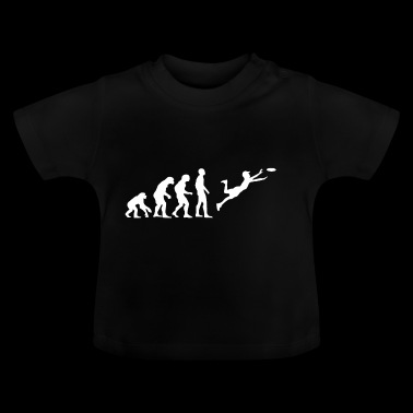 Evolution Frisbee - Baby T-Shirt