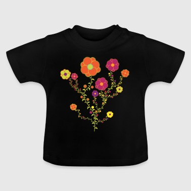 Fall Flowers - Baby T-Shirt
