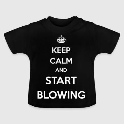 start blowing / Blowjob / Blowjob / Malle / Party - Baby T-Shirt