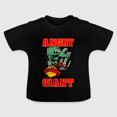 Vintage Angry Giant Cartoon Style - Baby T-Shirt