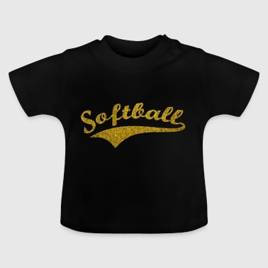 softball v3 - Baby-T-skjorte