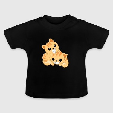 Two cute cats - Baby T-Shirt
