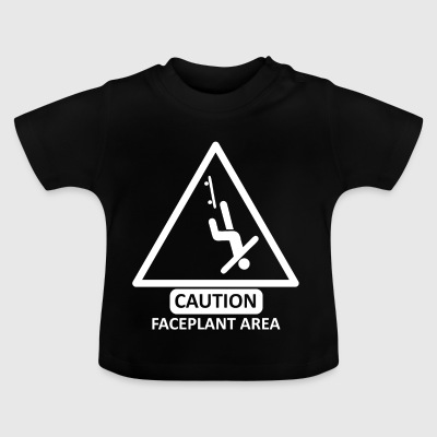 faceplantarea wite - Baby T-shirt