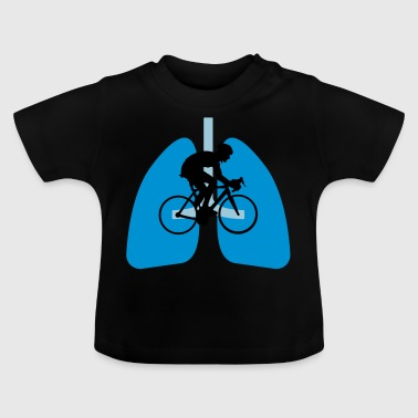 Bicycle save health - Baby T-Shirt