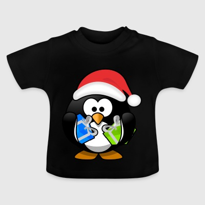 Father Christmas Penguin - Baby T-shirt