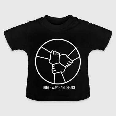 Drie Way Handshake - Baby T-shirt