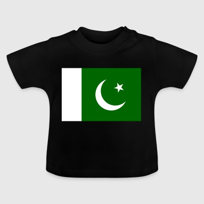 Nationalflagge von Pakistan - Baby T-Shirt