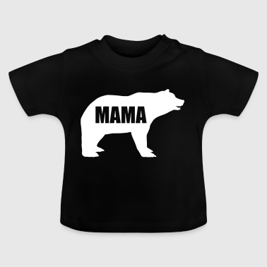 Mother - mum bear - mother animal - mothers day - bear - Baby T-Shirt