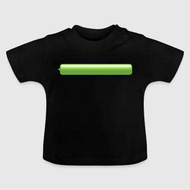 chat bubble left green small - Baby T-Shirt
