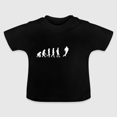 EVOLUTION touché le football touché - T-shirt Bébé