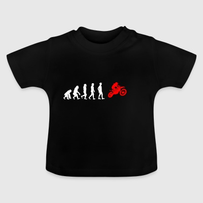 EVOLUTION motorcross biker motorcycle - Baby T-Shirt