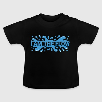 Jeg er The Flow - Baby T-shirt