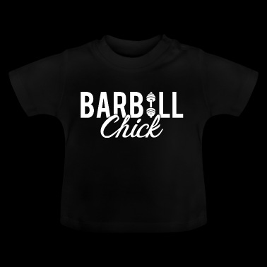 Barbell Fitness Chick - Baby T-Shirt
