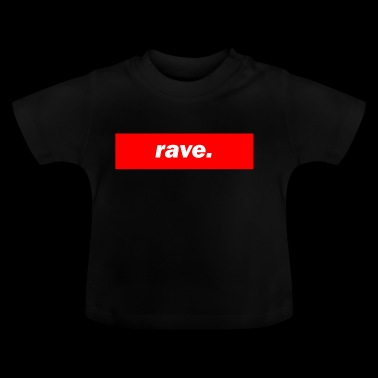 techno Mischpult rode bas bpm rave - Baby T-shirt